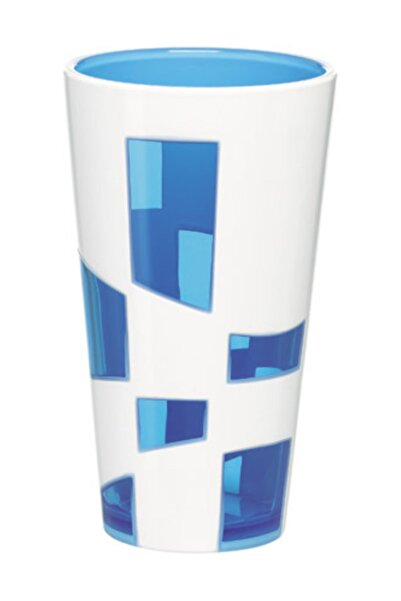 emsa Vazo Mavi Beyaz - Dörtgen Şekil