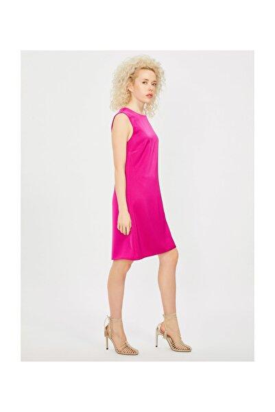 Kadın Kolsuz Klasik Kesim Krep Elbise