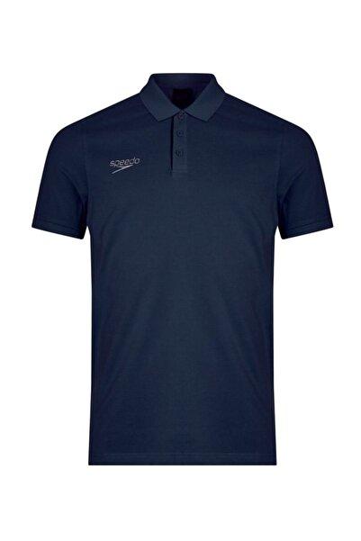 SPEEDO Polo Yaka Unisex T-shirt - Lacivert