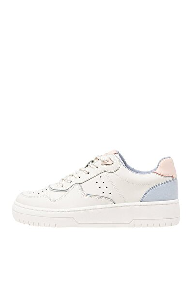 Kadın Karışık Renkli Şeritli Spor Ayakkabı 19002570