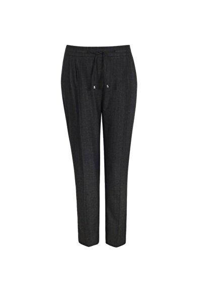 Chima Kadın Antrasit Arkası Lastikli Bağcıklı Pantolon