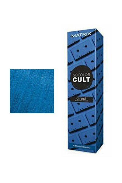 Matrix Socolor Cult Semi Direct Retro Blue Mavi Saç Boyası 118ml