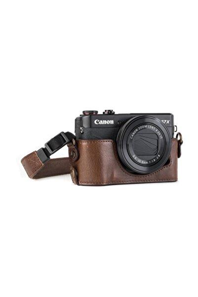 MegaGear MG951 Canon Powershot G7 X Mark II Deri Kamera Çantası