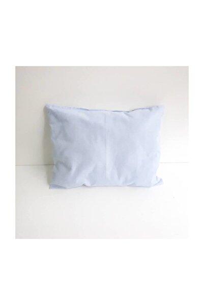 bebegen Sade Mavi Bebek Yastık (25×35 cm)