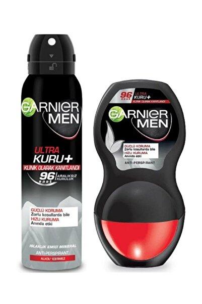 Garnier Men Ultra Kuru Deo 150 ml + Ultra Kuru Roll-on