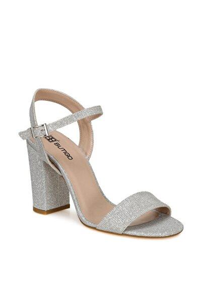 Butigo NEOBİ Gümüş Kadın Topuklu Ayakkabı