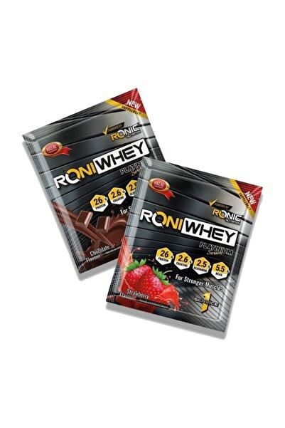 Ronic Nutrition Ronıwhey Tek Servis Protein Tozu Çilek Aromalı