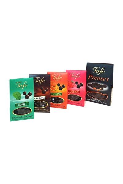 TAFE Karışık 5'li Çikolata Kaplı Drajeler 305g