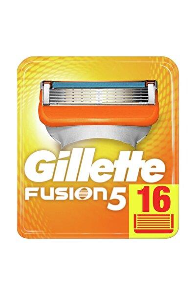 Gillette Fusion 5 Manual Yedek 16'lı Karton Ambalaj