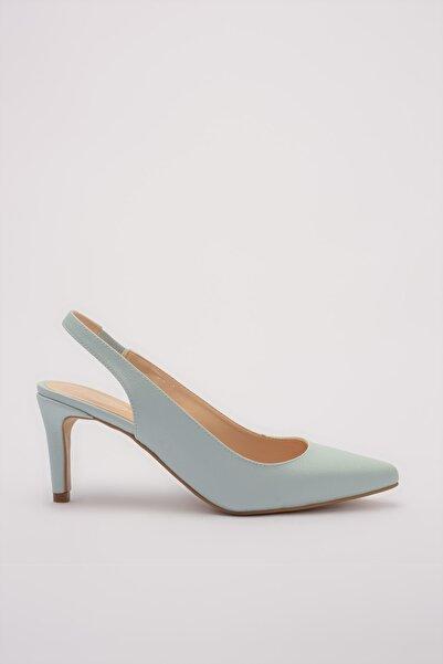 Mavı Kadın Klasik Topuklu Ayakkabı 01AYH176020A620