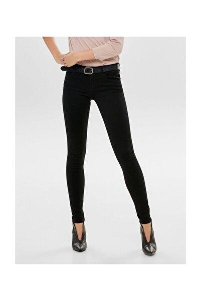 Only Bayan Orta Bel Siyah Kot Pantolon 15077793