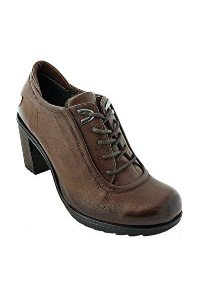 Mammamia Hakiki Deri Topuklu Kadın Ayakkabı 820