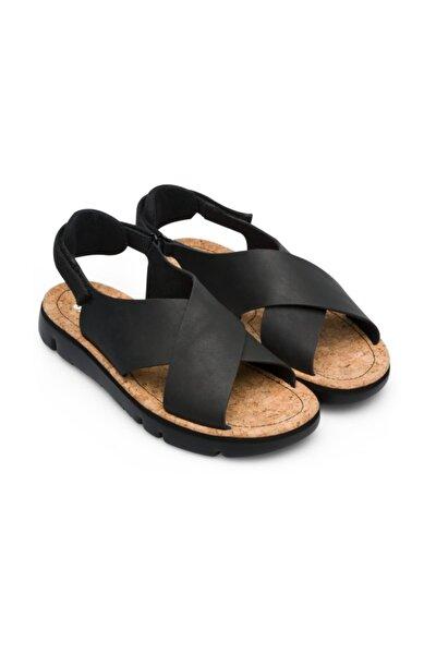 CAMPER Siyah Kadın Sandalet