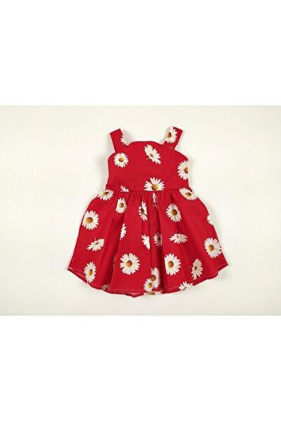 Bella Baby Kırmızı Bebek Elbise