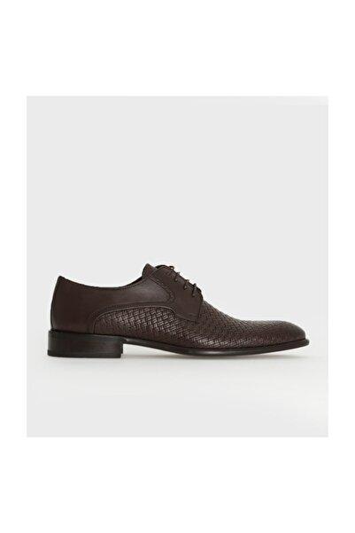 Hatemoğlu Hakiki Deri Kahverengi Klasik Ayakkabı 13171018C038
