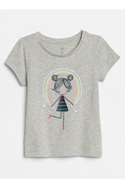 GAP Baby Kız Bebek Grafik Kısa Kollu T-Shirt