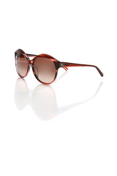 Karl Lagerfeld Kl 778 131 Kadın Oval Güneş Gözlüğü