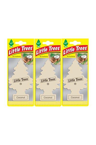 Little Trees Coconut (hindistan Cevizi) Oto Kokusu 3 Adet