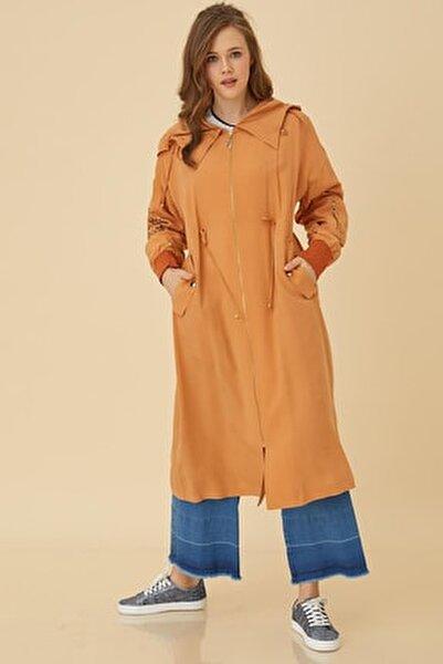 Kolu Nakışlı Ribanalı Giy-çık Orange B9 25069