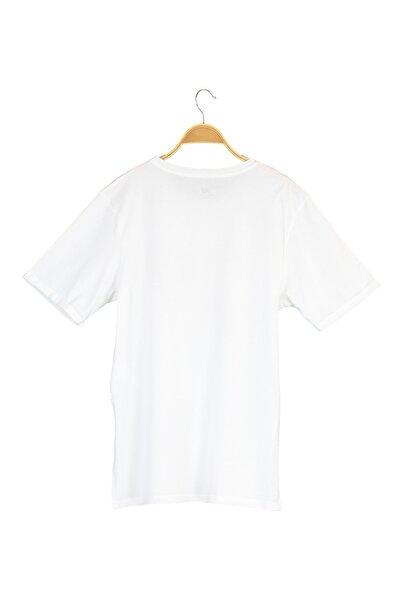 Spor T-Shirt - NB VOM TEE - V-WTT916-WT