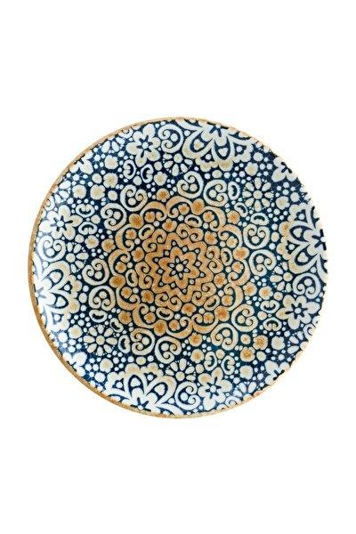 Bonna Porselen Alhambra Gourmet 6'lı 25 cm Düz Tabak (6 Kişilik)