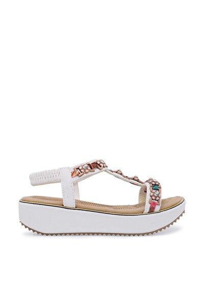 Guja Beyaz Kadın Sandalet 38919Y200