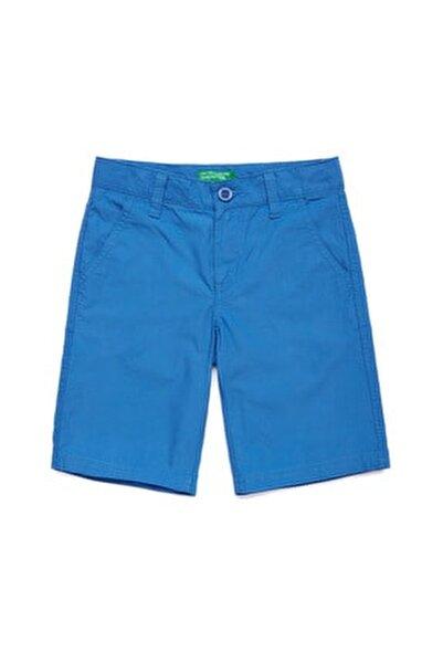 Mavi Çocuk Chino Bermuda Şort
