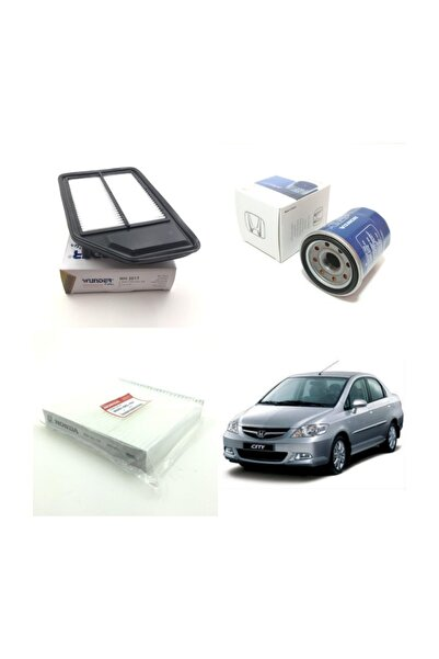 WUNDER Honda City (2006 - 2008) Filtre Bakım Seti