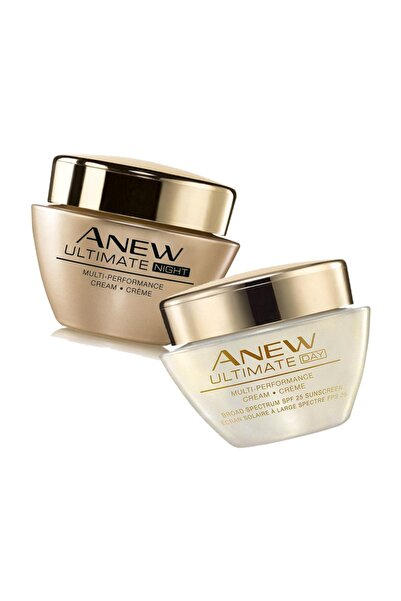 AVON Anew Ultimate Multi Performance Gece Ve Gündüz Kremi 2x50ml