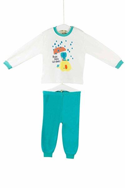 Aziz Bebe Aziz Bebe Kız Bebek Pijama Takımı 6-24 Ay 9417