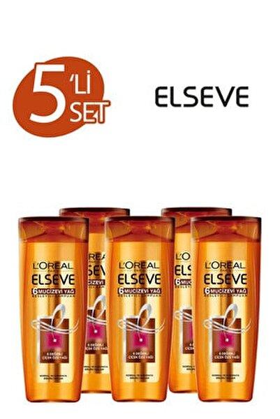 5'li 6 Mucizevi Yağ Bakım Şampuanı 360 ml Seti  36005231657975