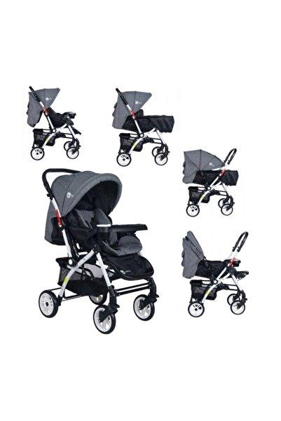 4 Baby Lüx Çift Yönlü Bebek Arabası