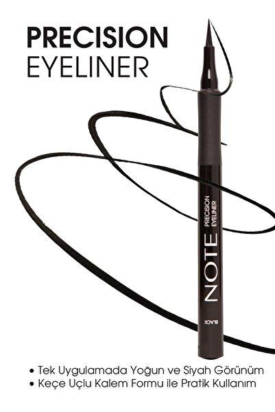 NOTE Siyah Eyeliner - Precision Eyeliner Black 8680705332013
