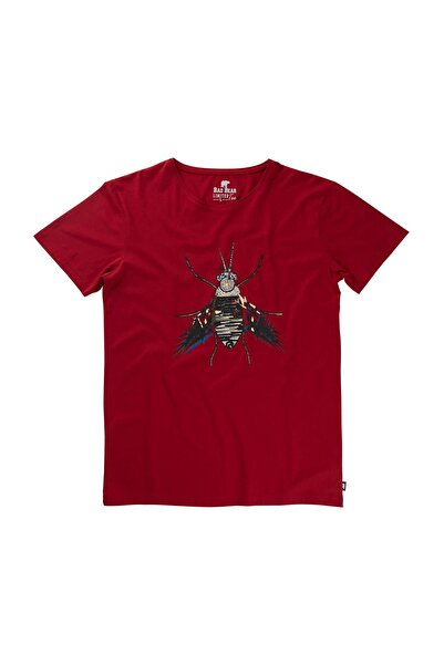 Bad Bear PARTYFLY TEE CRIMSONRED