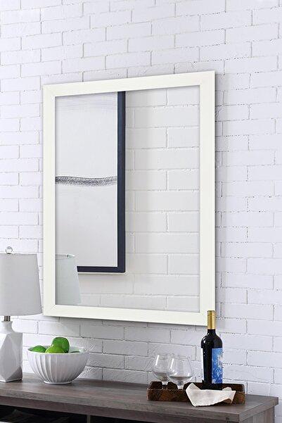 Tablo Center Beyaz Çerçeveli Ayna 40 X 50 cm