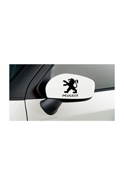 TSC Peugeot Oto Araba Yan Aynalar Için 2 Adet Sticker Set