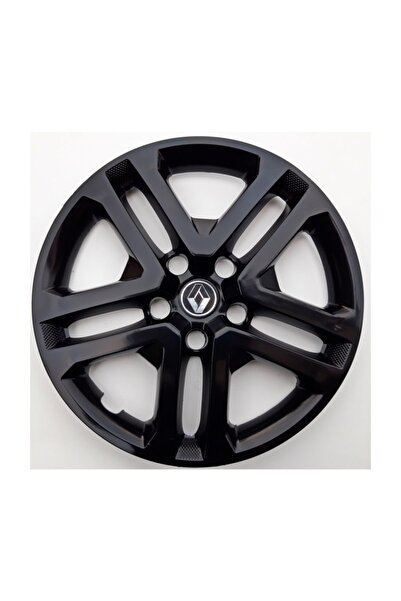 Seta 16'' Inç Renault Megane Parlak Siyah 4 Jant Kapağı 4 Adet