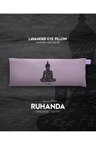 Ruhanda Buddha Sembollü Lavantalı Göz Yastığı - Kılıflı