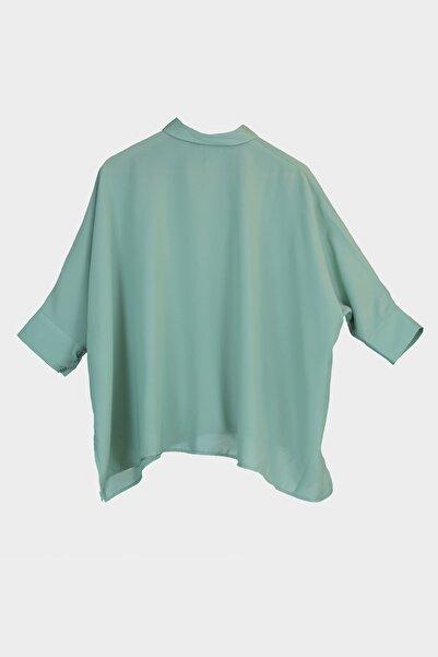 Mint Kısa Kol Gömlek TWOSS20GO0200