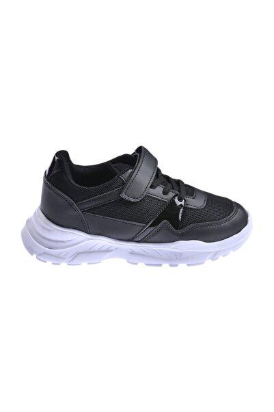 Ayakland Kız Erkek Çocuk Günlük Fileli Cırtlı Spor Ayakkabı S11