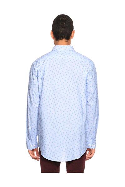 Marc Jacobs Puantiyeli Mavi Gömlek