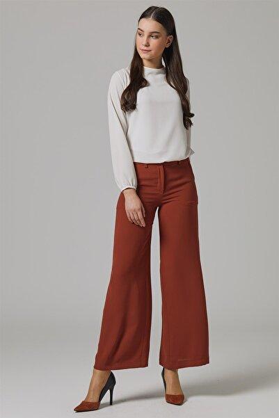 Doque Kadın Pantolon Kiremit