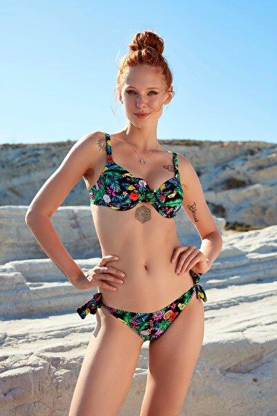 Dolgulu Bikini Tek Üst Tropik