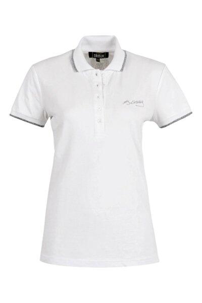 Fenerbahçe Kadın Atatürk İmzalı Polo Yaka T-Shirt TK038B9S01