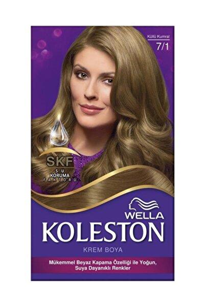 Koleston Set Krem Saç Boyası 7.1 Küllü Kumral 3614229710403