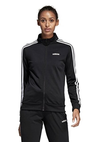 Essentals Kadın Siyah Fermuarlı Ceket DP2406