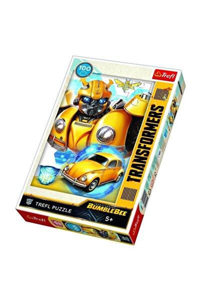 Trefl Puzzle 100 Parça Puzzle Hasbro Transformers, Bumblebee 16355