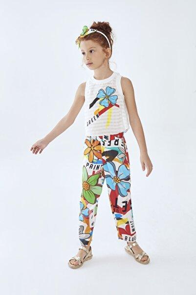 Lia Lea Kız Çocuk Desenli Pantolon