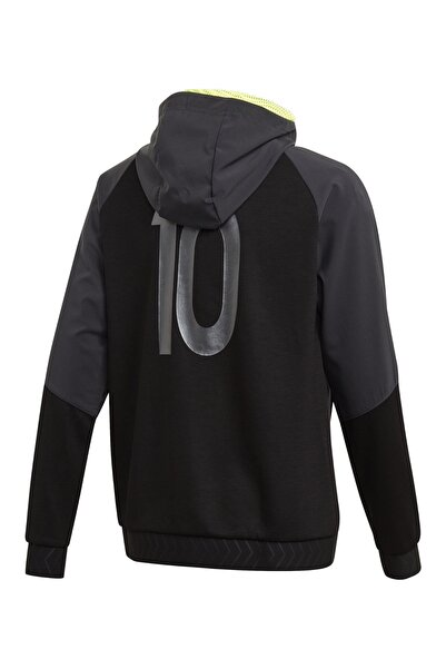 Messi Full-Zip Hoodie Kapüşonlu Çocuk Ceket