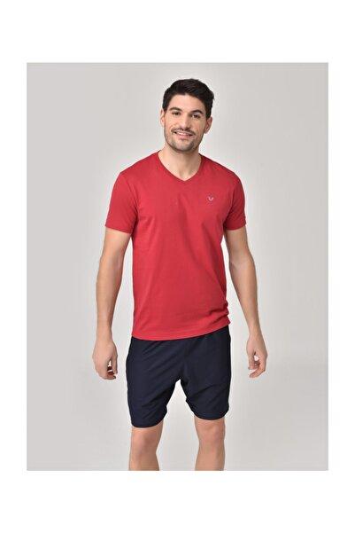 bilcee Kırmızı Erkek T-Shirt GS-8898